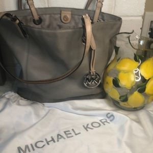 Michael Kors Grey Tote with Dust Bag